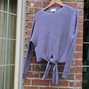 Universal Thread cropped knit sweater